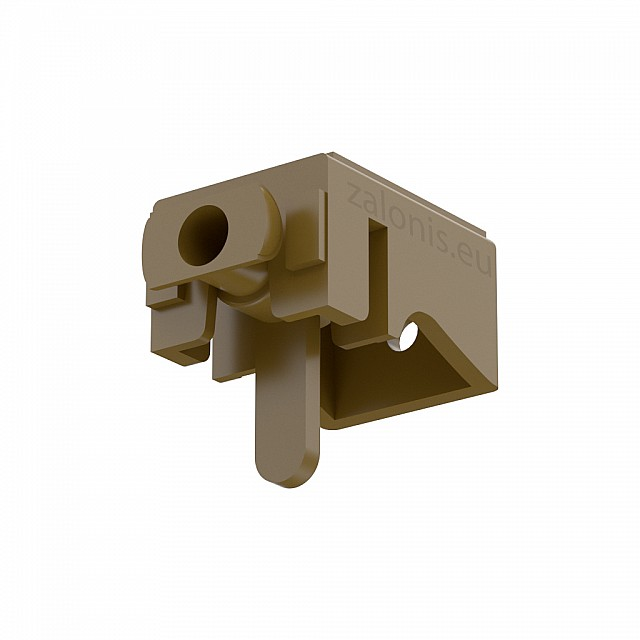 LEVERLOCK CURTAIN RAIL BRACKET / GOLD MAT